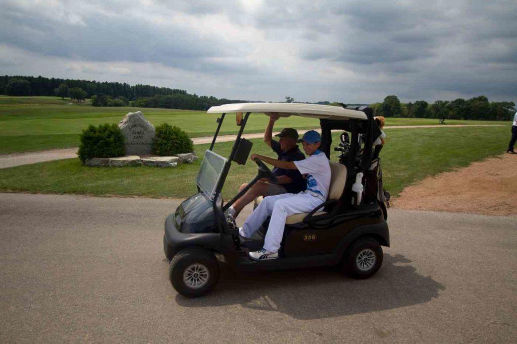 adult program golf cart