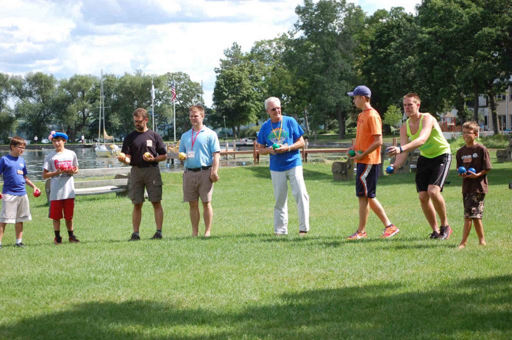 adult program lawn games