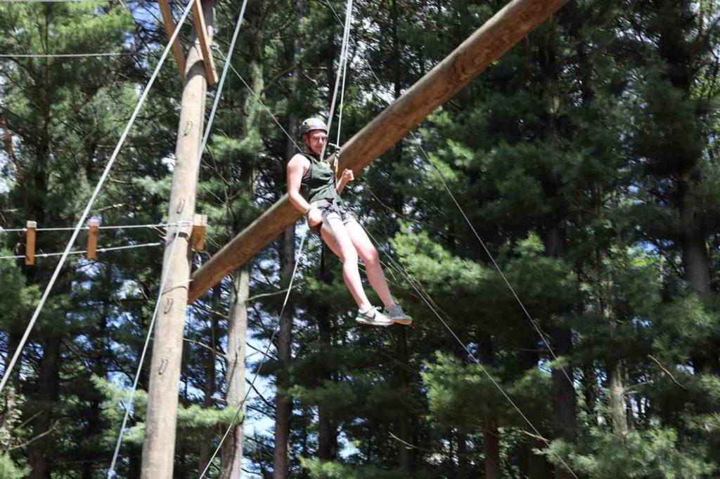 senior high ropes course