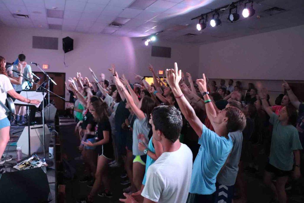 senior high worship
