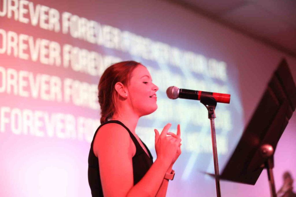 senior high worship at mic