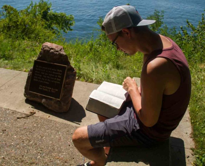 young adult read bible