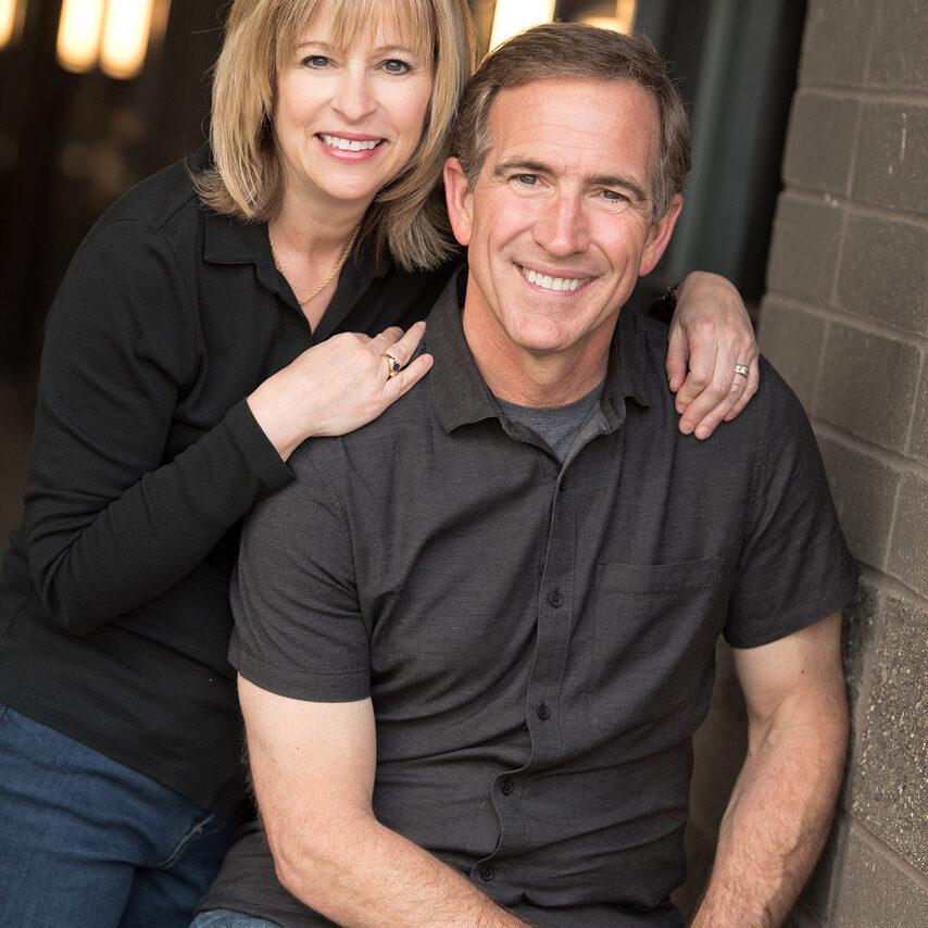 Brad and Heidi Mitchell